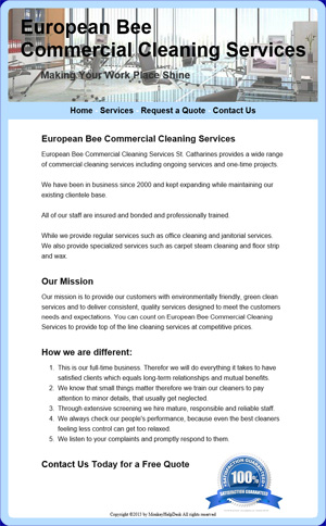 European Bee Commercial Cleaning